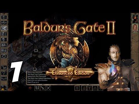 Let's Play Baldur's Gate II: Enhanced Edition [Part 1] - The Great Escape - Gameplay Walkthrough