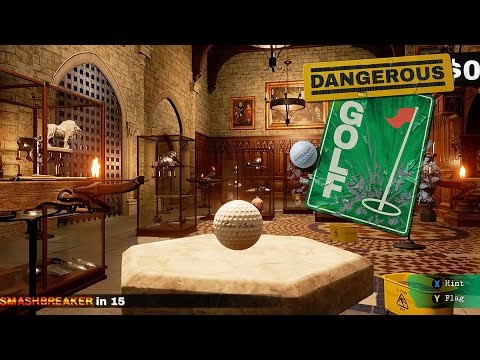 Dangerous Golf - Gameplay Trailer