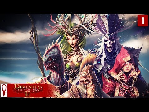 Divinity Original Sin 2 Gameplay Part 1 - Undead Fane, The Polymorph Summoner - [Coop Multiplayer]