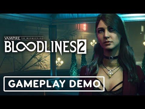 Vampire: The Masquerade - Bloodlines 2 Full Gameplay Demo - E3 2019