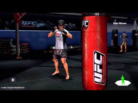 UFC Personal Trainer Gameplay [KINECT/MOVE/WII] (720p HD)